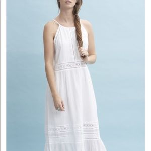 Roberta Roller Rabbit White Vega Casual Dress maxi